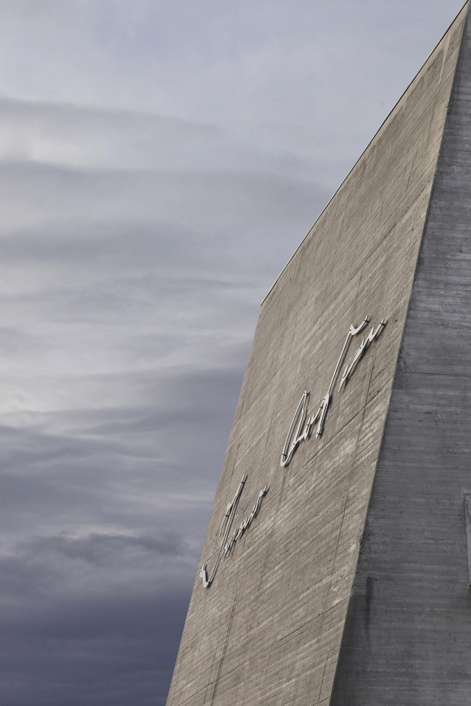 Ivar Aasen Centre, Orsta, Norway. Architect: Sverre Fehn, 2000.